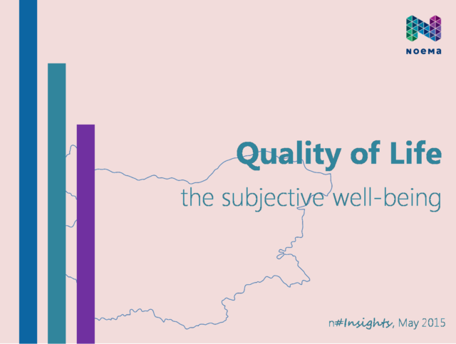Quality of life: the subjective well-being (2015)
